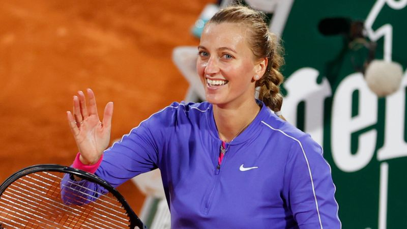French Open 2020: Kvitova into fourth round for first time since 2015, Kenin cruises