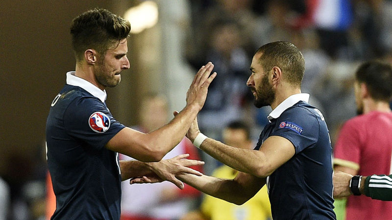 Giroud: Benzema's ongoing France exile kind of a mess