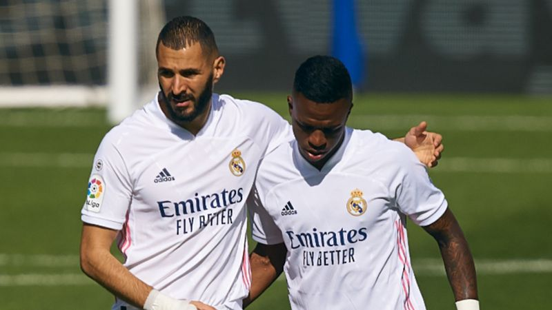Vinicius pays tribute to Benzema for taking him under his wing