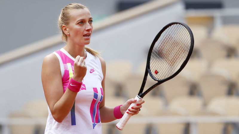 French Open 2020: Kvitova back in Roland Garros semis after eight years
