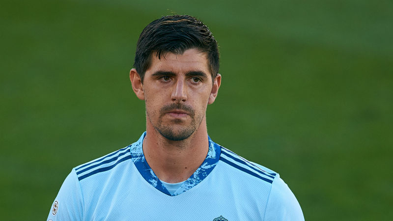 Madrid goalkeeper Courtois withdraws from Belgium squad
