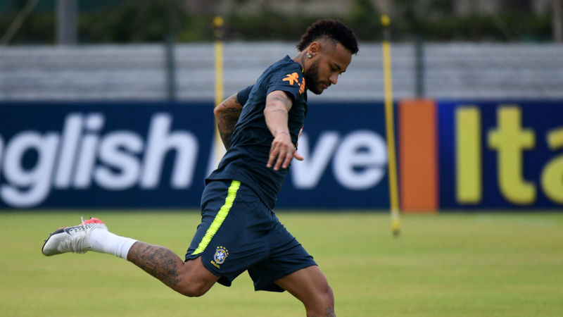 Neymar doubtful for Brazil's opening World Cup qualifier with back injury