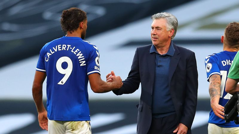 Everton boss Ancelotti wins Premier League Manager of the Month after Calvert-Lewin award
