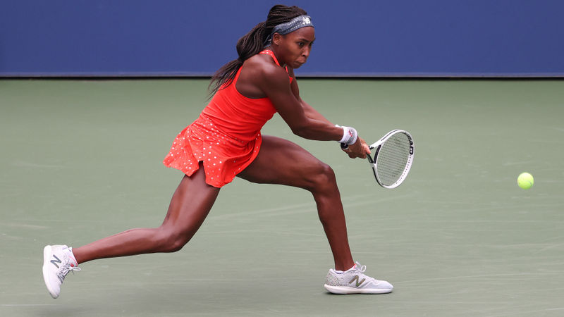 US Open 2020: Teenage sensation Gauff falls in first round