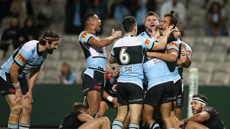 Rudolf slays Warriors as Sharks head for NRL Finals, Munster enjoys birthday to remember