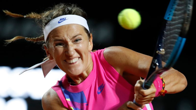 Azarenka crushes Kenin in Rome, as Muguruza sees off Gauff