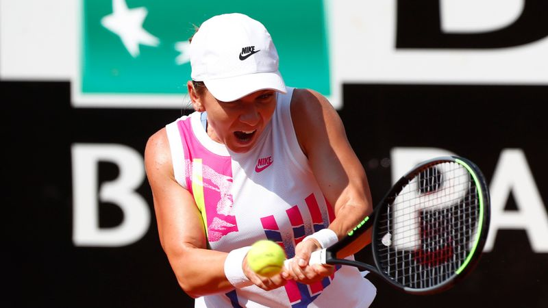 Halep overcomes Yastremska in Rome as Azarenka and Muguruza also reach last eight