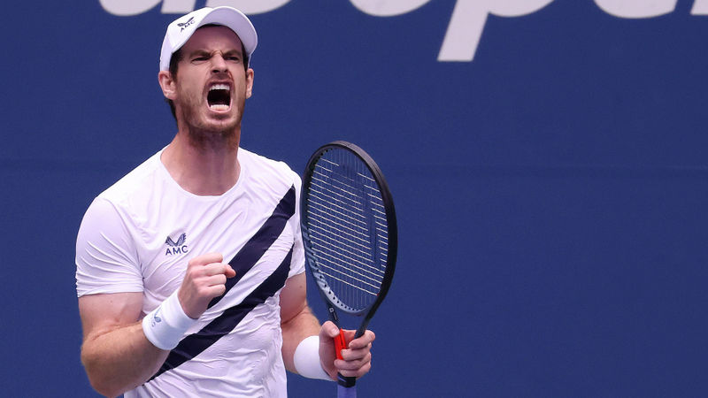 US Open 2020: Murray rallies from two sets down to complete epic comeback