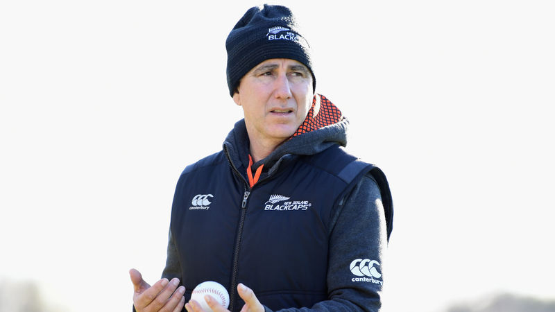 Stead re-signs as Black Caps head coach until 2023 Cricket World Cup