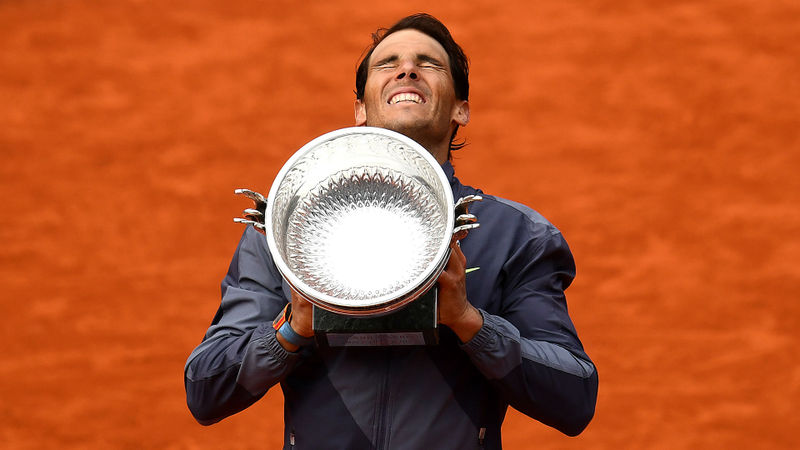 A 98 per cent win record, three faultless triumphs - Rafael Nadal's French Open dominance in numbers