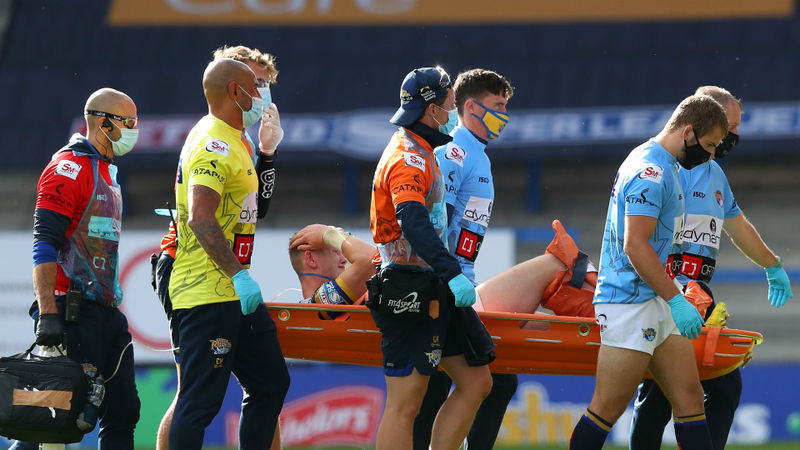 Newman injury mars Leeds Rhinos' win over Hull KR