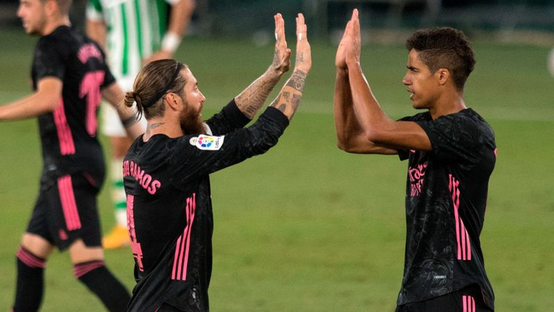 Real Betis 2-3 Real Madrid: Late Ramos penalty secures first win of Los Blancos' LaLiga defence