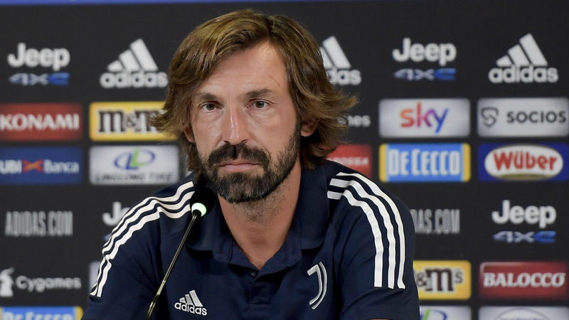 Juventus are still 'under construction', says Pirlo after Roma draw