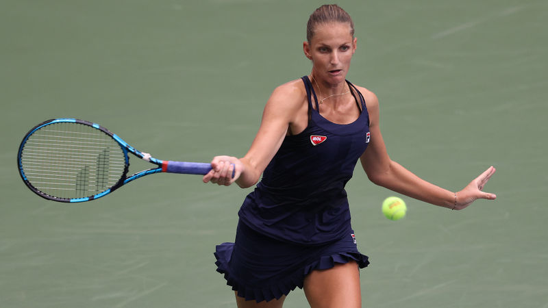 US Open 2020: Pliskova crashes out as Osaka, Kvitova advance
