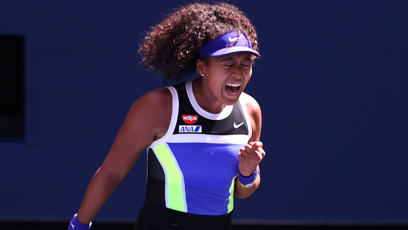 US Open 2020: Osaka survives test as Kerber, Kvitova move into last 16