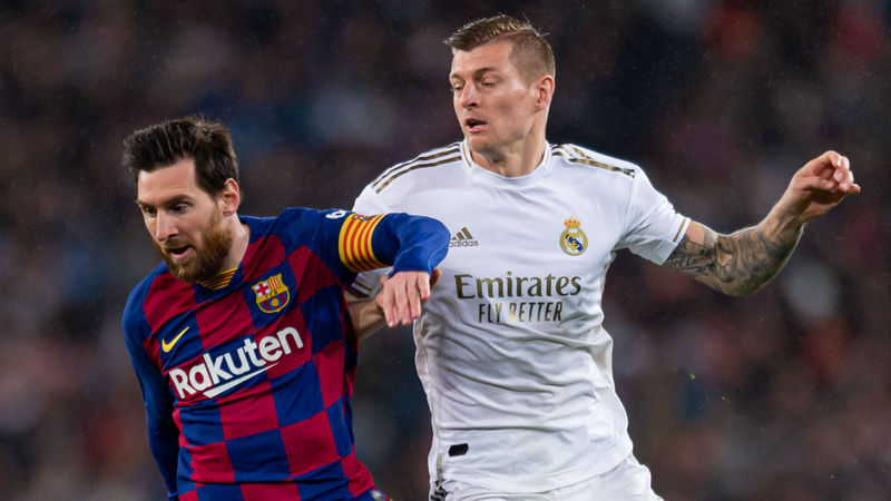 Real Madrid wouldn't have wanted Messi – Kroos