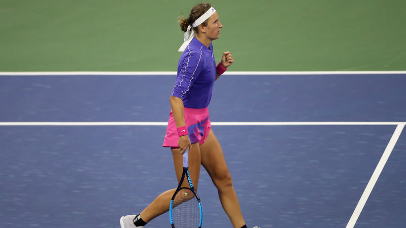 US Open 2020: Azarenka joins Serena in quarter-finals, Kenin crashes out