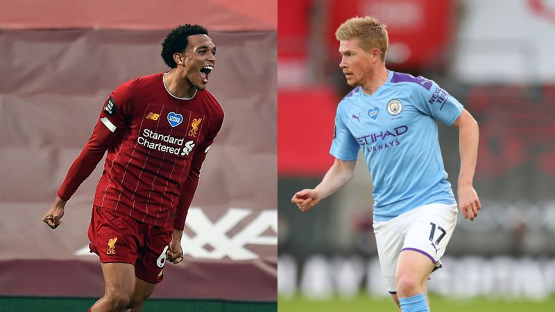 De Bruyne and Alexander-Arnold, standard-bearers of their craft – PFA award winners' seasons in Opta data