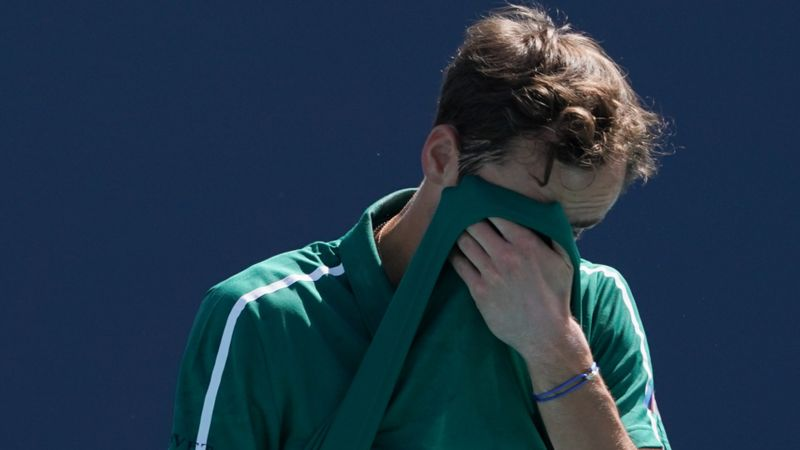 Medvedev sent packing in Miami upset, 'not human' Sinner sails into semis