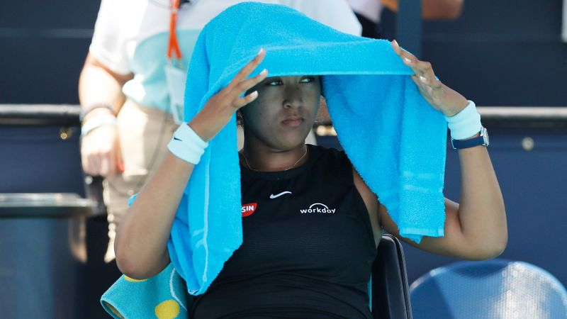 Osaka winning streak stopped by super Sakkari in Miami, Andreescu reaches semis