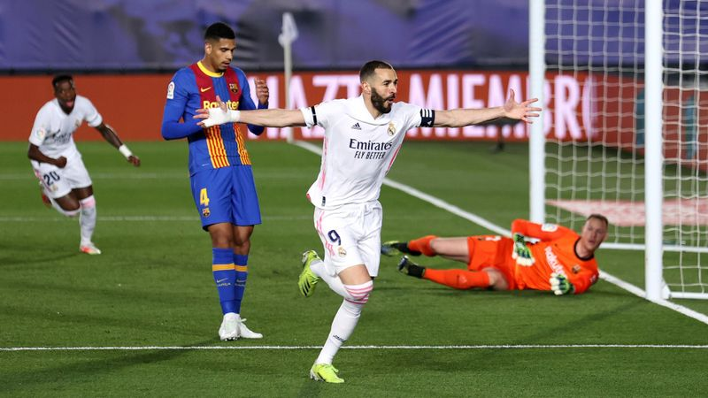 Benzema matches Ronaldo scoring run as Militao proves his value to Madrid