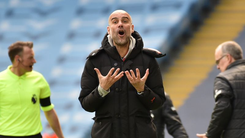 I trust them a lot - Guardiola backs City stars who flopped against Leeds