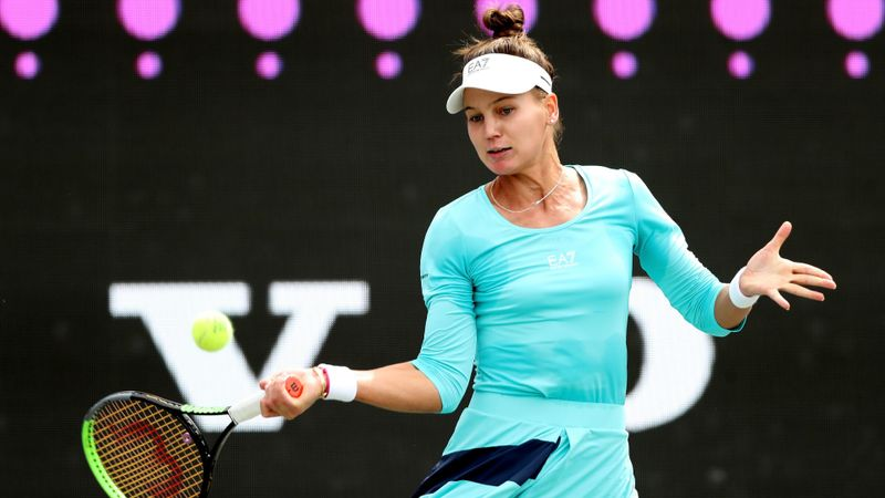 Kudermetova cuts short Badosa charge to reach Kovinic final