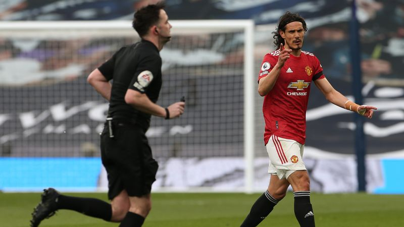 Cavani VAR decision was a 'total injustice', fumes McTominay