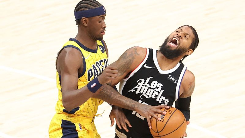 Paul George toe-totally thriving after 'breakthrough'