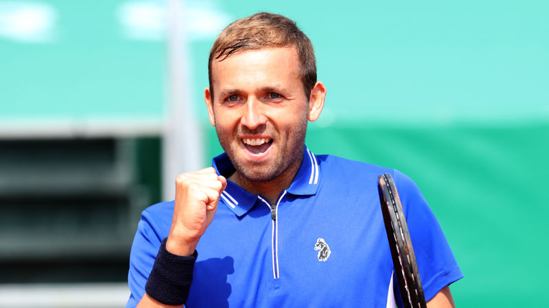 Good Evans! Djokovic stunned by Briton Dan in Monte Carlo