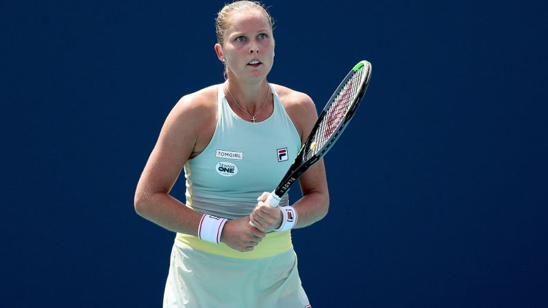 Rogers reaches quarters as Tomljanovic and Davis say goodbye