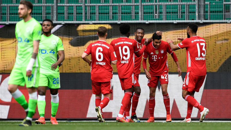 Wolfsburg 2-3 Bayern Munich: Musiala double as champions extend Bundesliga lead