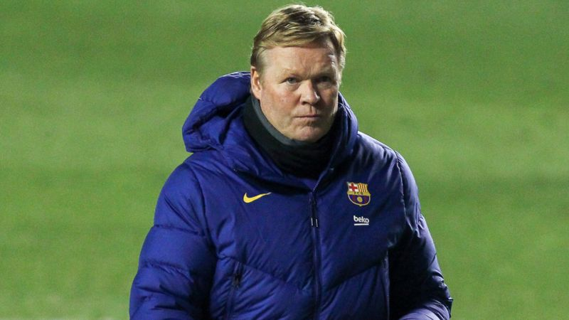 Koeman tired of relentless speculation over Barca future - 'It's a little bit strange'