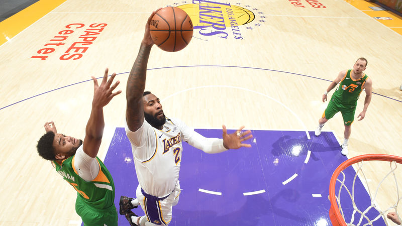 Lakers topple ladder leaders Jazz, Tatum stars in Curry shootout
