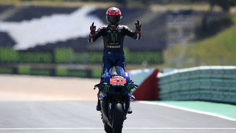 Quartararo eases to victory, Marquez seventh in long-awaited Portimao return