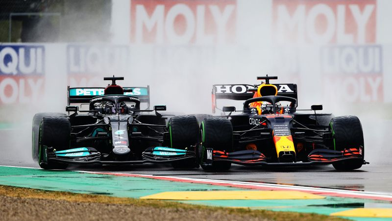 Verstappen victorious at red-flagged Emilia Romagna Grand Prix epic in Imola rain