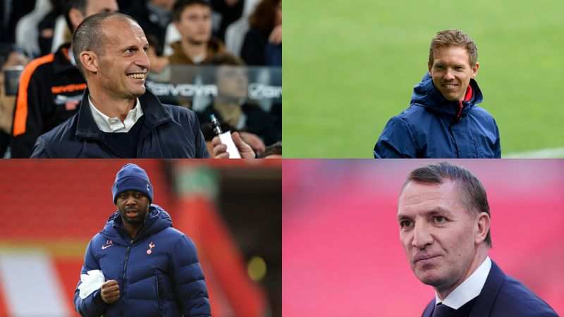 Spurs sack Mourinho: Nagelsmann, Rodgers and the other contenders to take the Tottenham hotseat