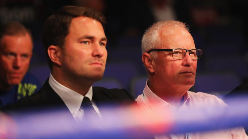 Eddie Hearn succeeds father Barry as Matchroom Sport chairman