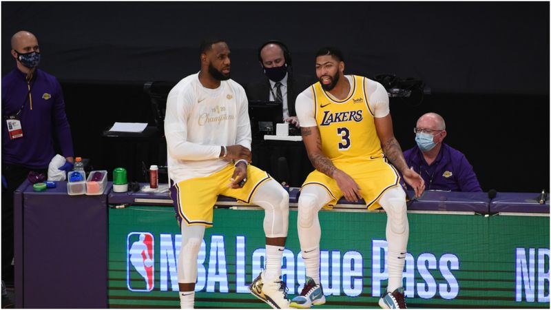 Anthony Davis nearing Lakers return, LeBron progressing with 'light work'