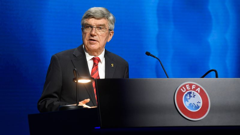 European Super League: IOC president Bach says 'profit-driven approach' threatens sport