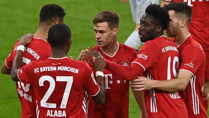 Bayern Munich 2-0 Bayer Leverkusen: Flick's men within touching distance of Bundesliga glory