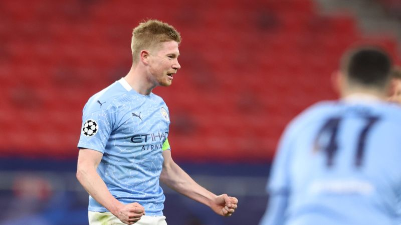 De Bruyne pushing for Man City return, injury 'less' than expected