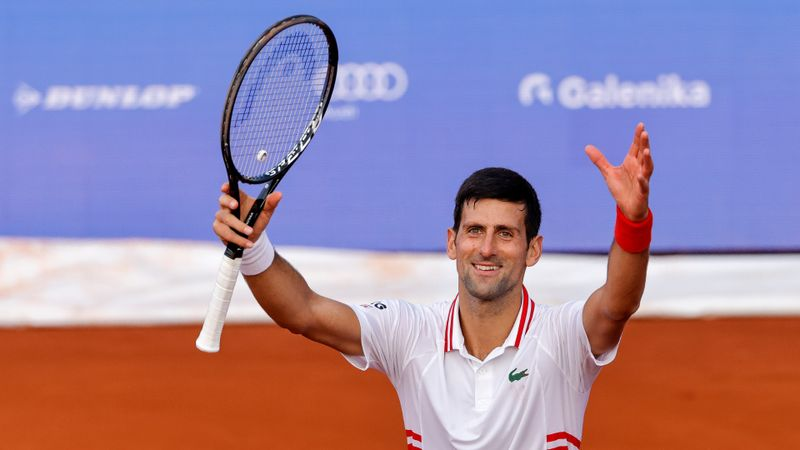 Djokovic 'pretty flawless' in Belgrade as Nadal struggles in Barcelona