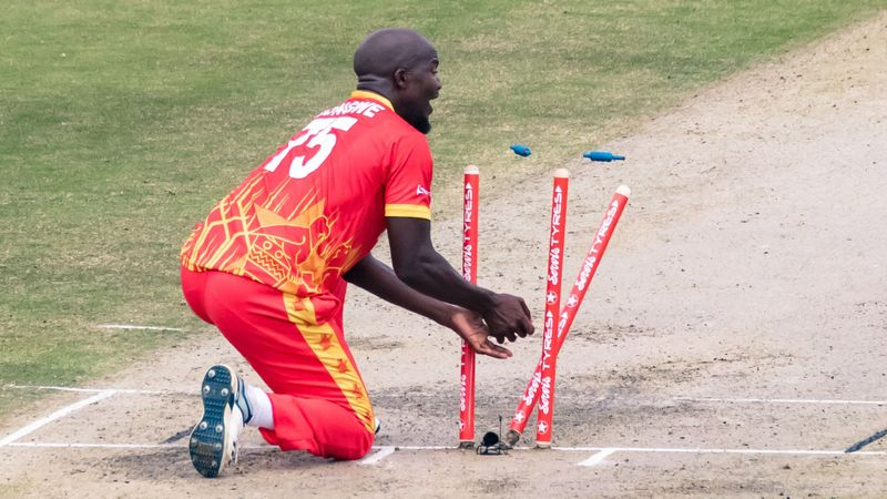 Zimbabwe earn historic win as Pakistan collapse in Harare
