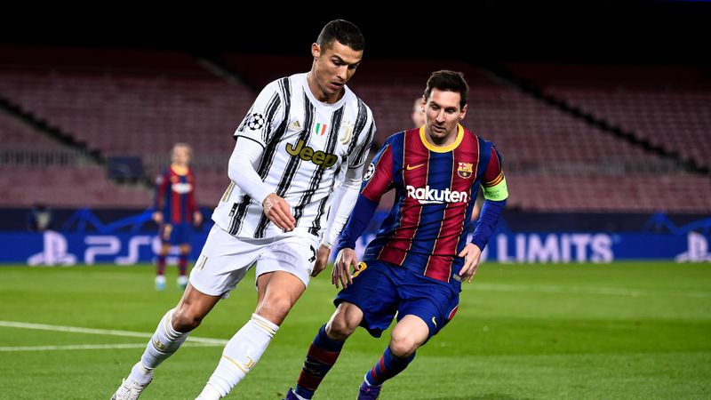 Messi joins Ronaldo in European league record books with 25th LaLiga goal of season