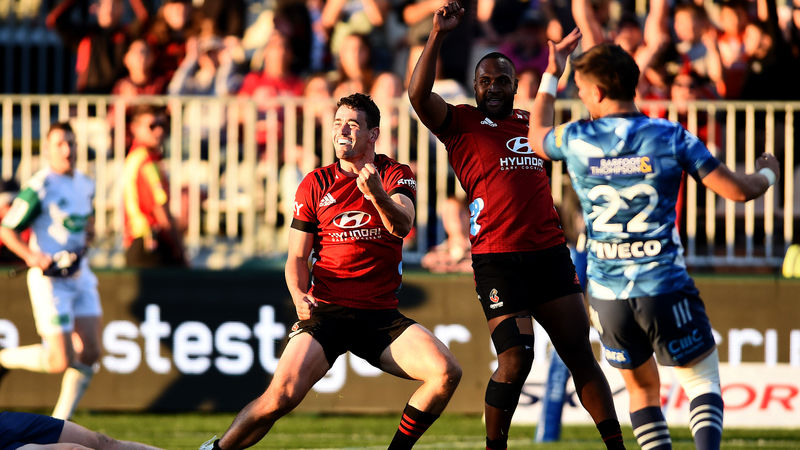 Crusaders thrash Blues to seal home Super Rugby decider