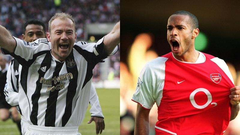 Shearer, Henry named first players inducted into Premier League Hall of Fame