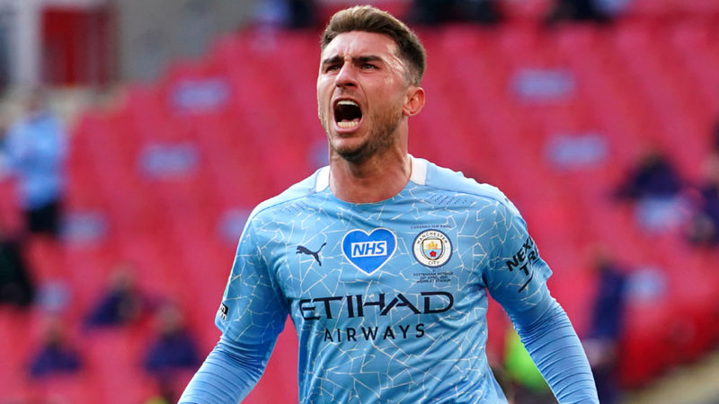 Manchester City 1-0 Tottenham: Laporte wins EFL Cup final to boost treble hopes