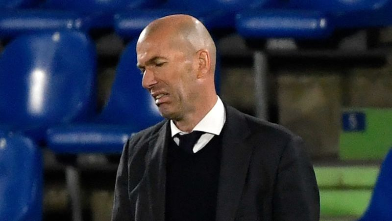 Champions League exclusion talk is 'absurd', insists Zidane