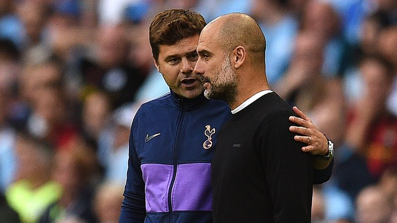 Man City are among the greats and Guardiola is the best, says Pochettino